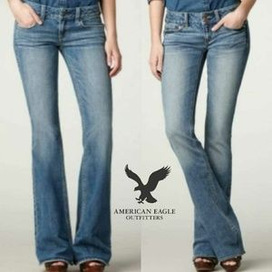 NWT American Eagle Hipster Flare Stretch Jeans